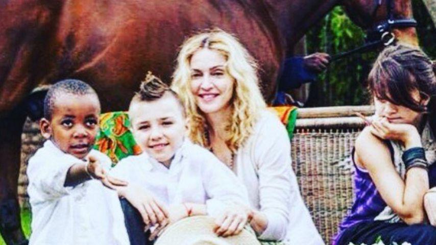 """Rocco fehlt ihr! Madonna trauert um """"die gute alte Zeit"""""""