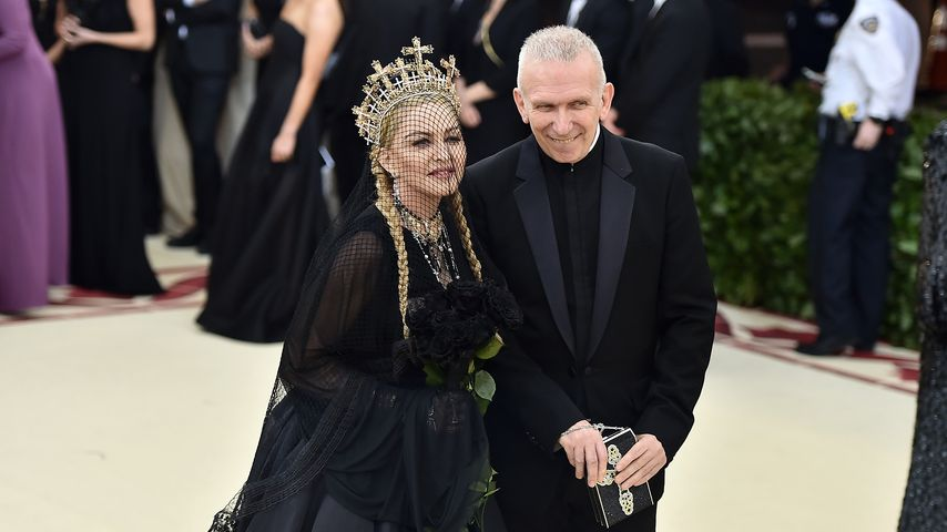Madonna und Jean Paul Gaultier im Mai 2018 in New York City
