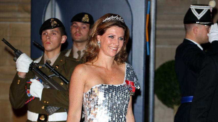 Märtha Louise von Norwegen bei einer Gala in Luxemburg, 2012