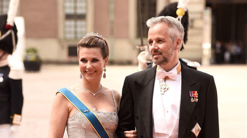 Märtha Louise von Norwegen und Ari Behn im Juni 2015