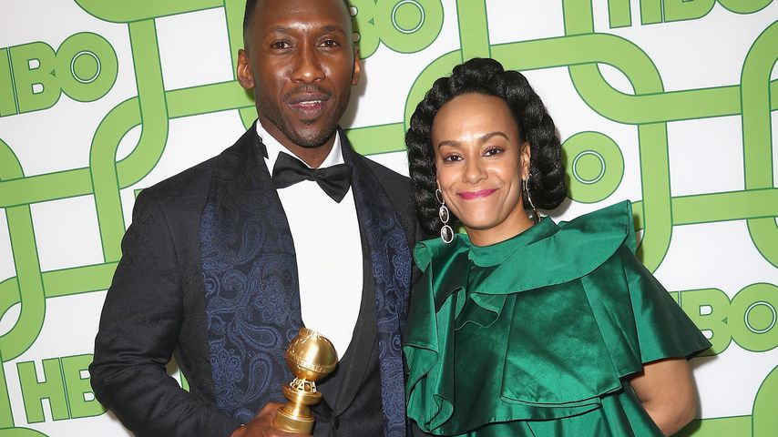 Mahershala Ali und Amatus Sami-Karim bei den Golden Globes 2019