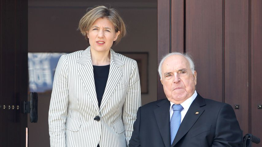 Krass: Helmut Kohls Witwe will Grab mit Kameras überwachen!