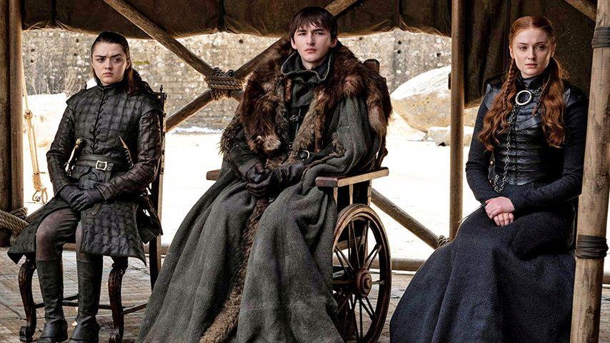 """Maisie Williams, Isaac Hempstead-Wright und Sophie Turner in """"Game of Thrones"""""""