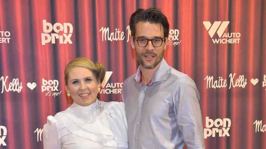 """Maite Kelly und Florent Raimond bei der """"Maite Kelly & bonprix""""-Kollektionspräsentation 2015"""
