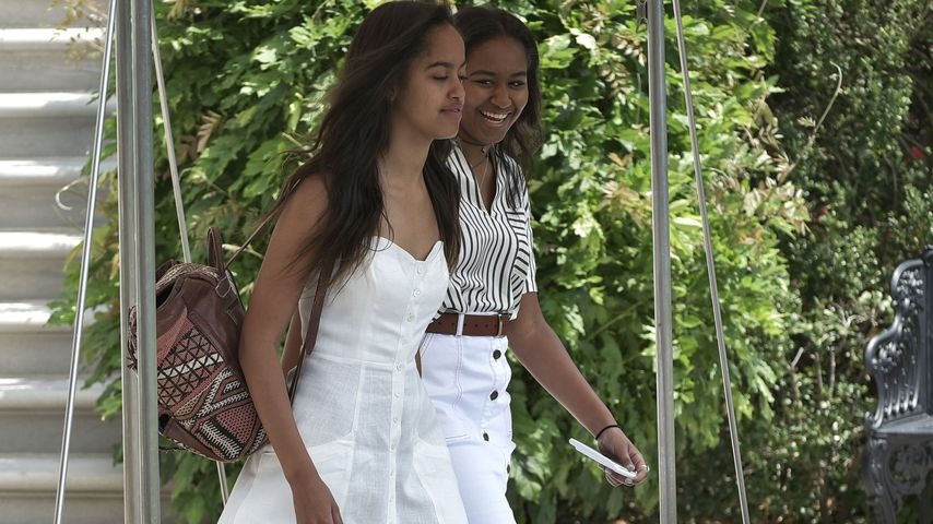 Malia und Sasha Obama im August 2016