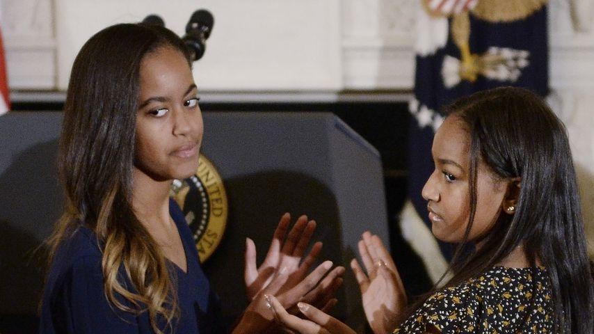 Malia und Sasha Obama erlebten erste Küsse im Weißen Haus