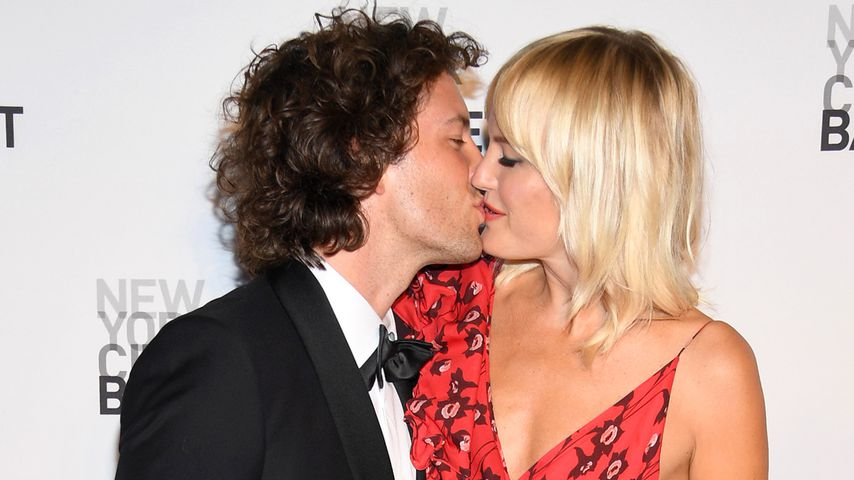 Jack Donnelly und Malin Akerman in New York, 2017