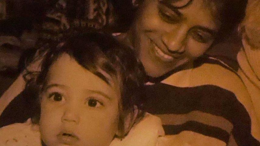 Malin Andersson mit ihrer Mutter