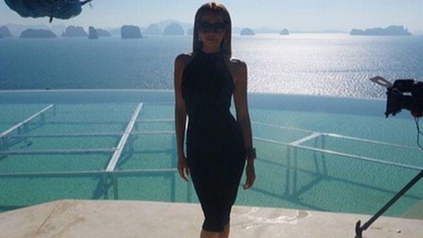 In Thailand: Mandy Capristo zeigt ihre schlanke Silhouette