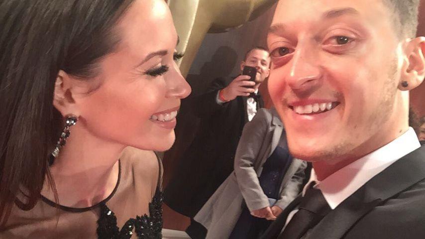 Mandy Capristo und Mesut Özil