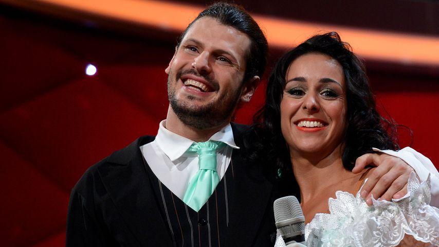 """Manuel Cortez und Melissa Ortiz-Gomez bei """"Let's Dance"""" 2013"""