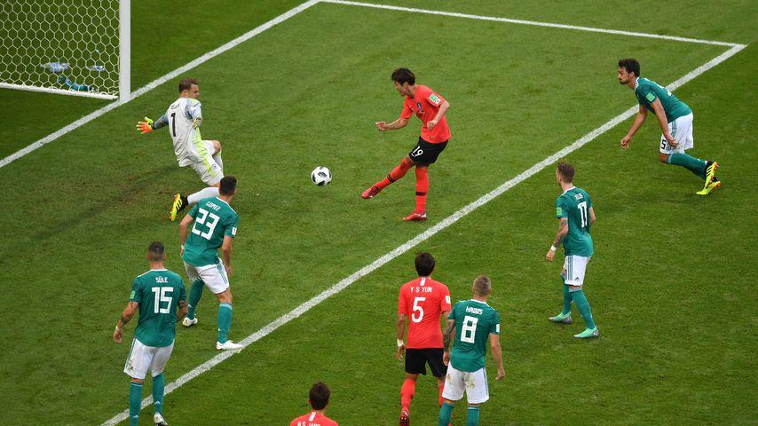 Manuel Neuer beim Spiel gegen Südkorea