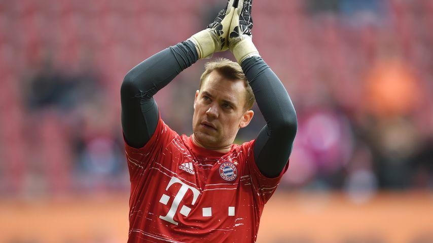 Manuel Neuer beim Bundesligaspiel Augsburg gegen Bayern München