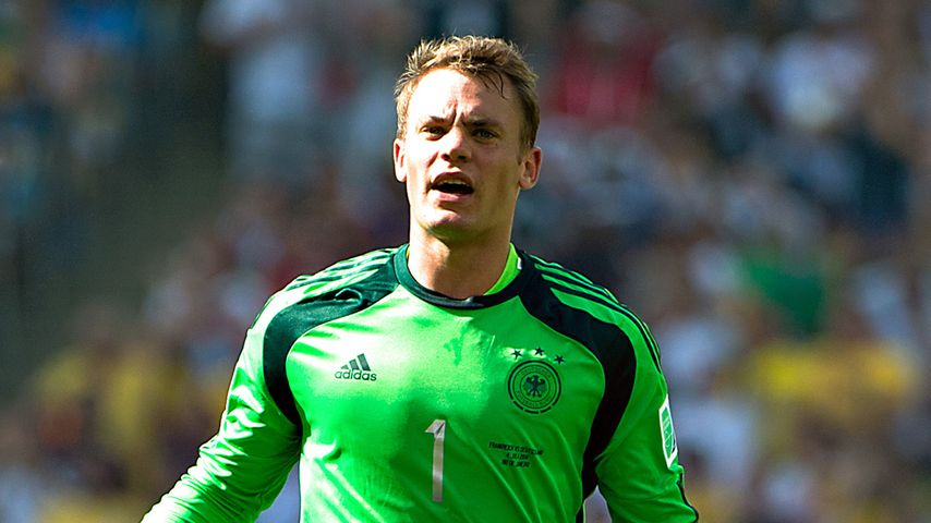 Manuel Neuer im WM-Viertelfinale gegen Frankreich