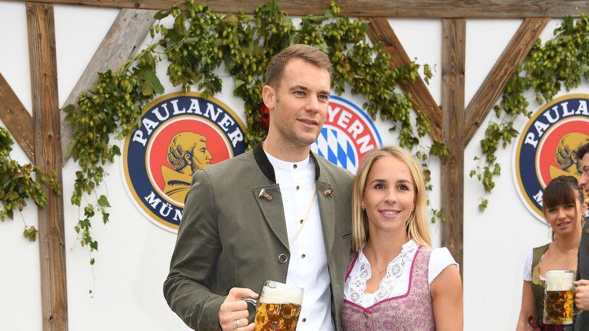 Manuel Neuer und Nina Weiss auf dem Oktoberfest 2019