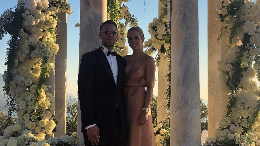 Manuel und Nina Neuer bei der Hochzeit von Ann-Kathrin und Mario Götze