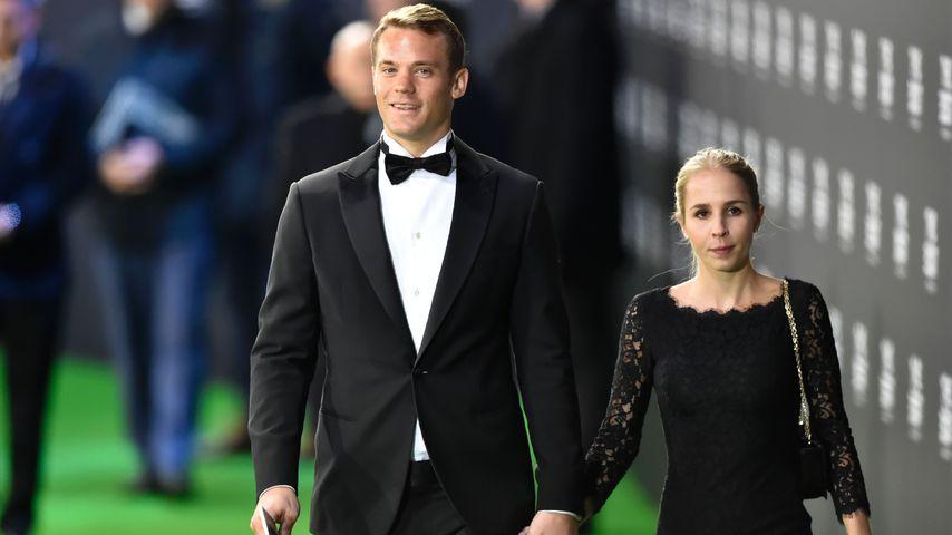 Fußballprofi Manuel Neuer und seine Frau Nina