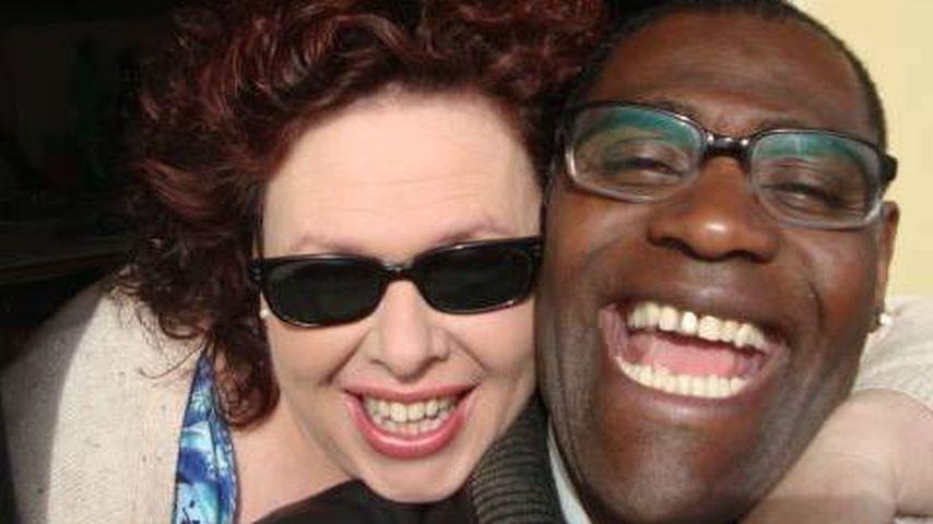 Sänger Alphonso Williams mit seiner Frau Manuela