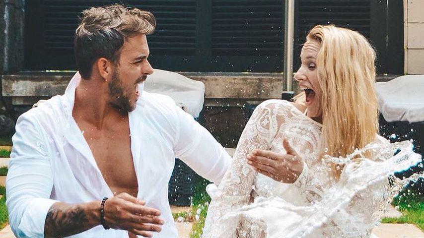Romantisch: Marc Barthel gesteht Anna Hofbauer seine Liebe!