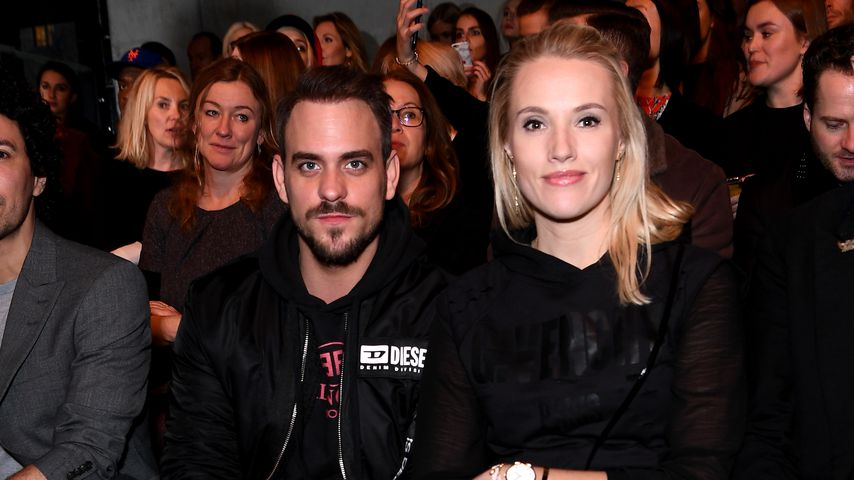 Marc Barthel und Anna Hofbauer bei der Berlin Fashion Week 2019