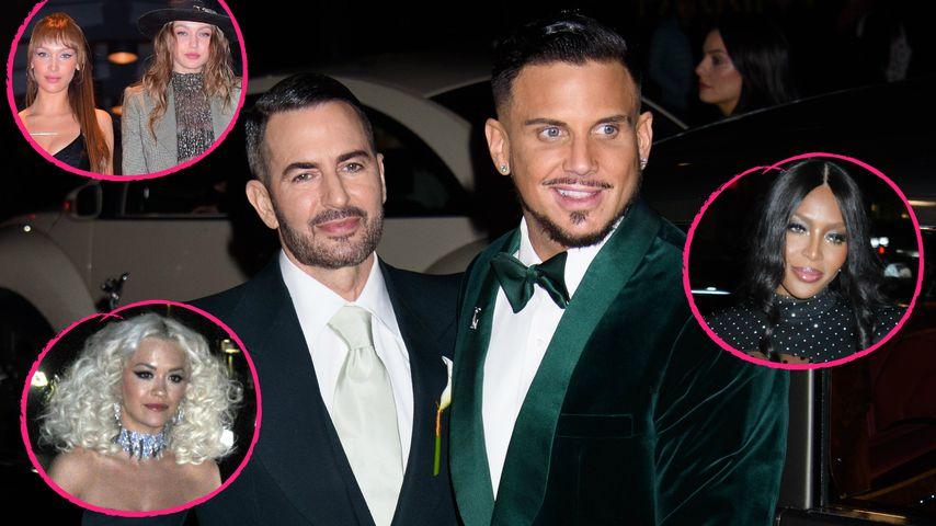 Gigi, Bella, Naomi & Co. zu Gast: Marc Jacobs hat geheiratet