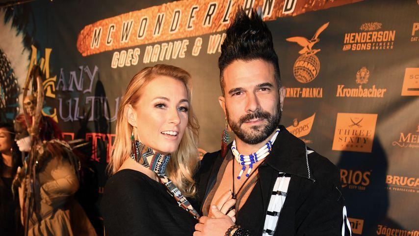Marc Terenzi mit seiner Freundin Anja im November 2018