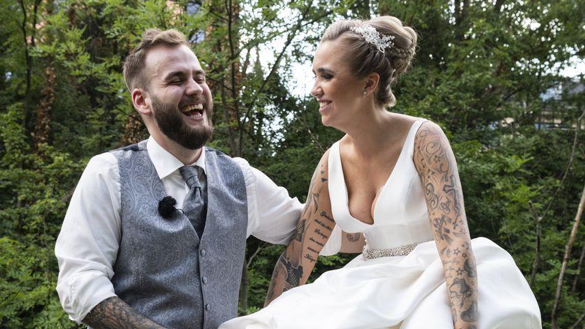 """Marc und Jessica bei """"Hochzeit auf den ersten Blick"""""""