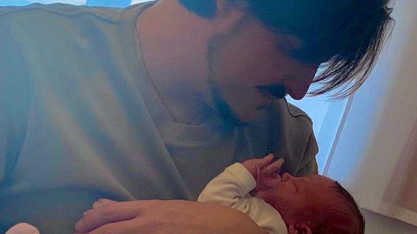 """Erste Bilder: Ex-""""Unter uns""""-Star Mars zeigt seine Tochter"""