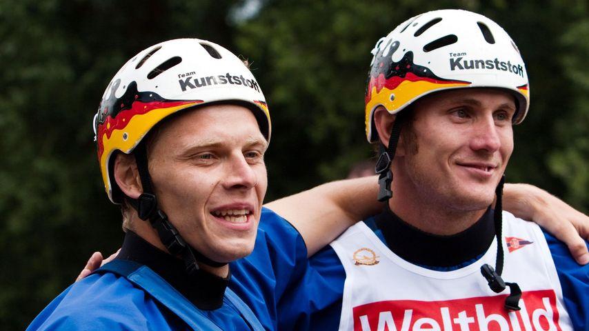 Marcus Becker und Stefan Henze beim Weltcup-Finale der Kanuten 2009