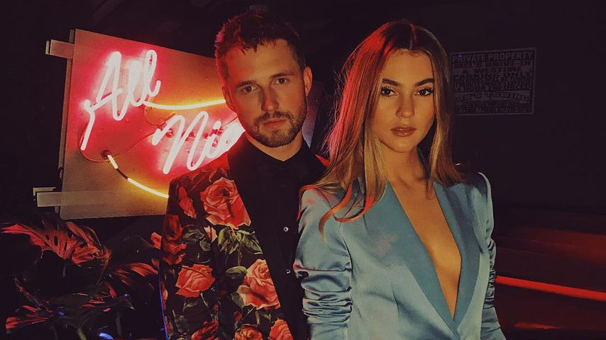 Marcus Butler & Stefanie Giesinger auf der Vanity Fair x Instagram Party in Los Angeles