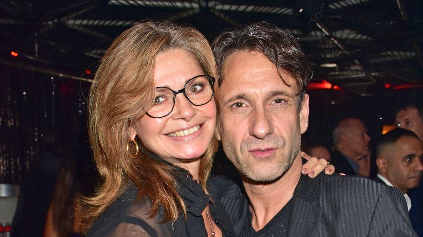 Maren Gilzer und Falk-Willy Wild bei der Star Press Media Night