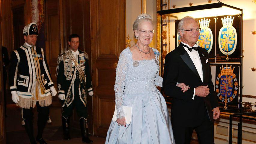 Königin Margrethe und König Carl Gustaf