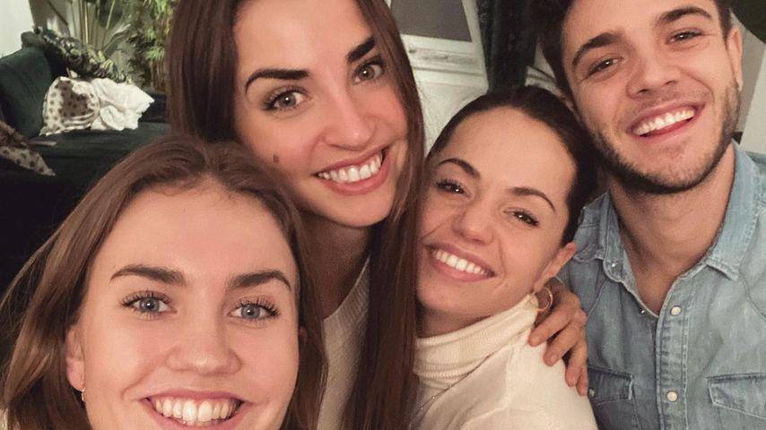 Maria, Ekaterina Leonova, Christina Luft und Luca Hänni
