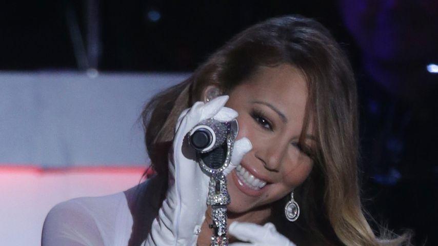Mariah Carey im Dezember 2013