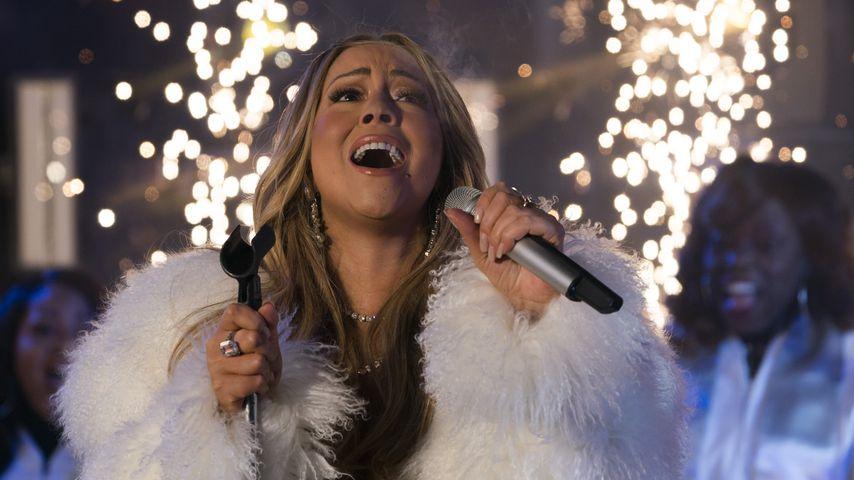 Mariah Carey bei der New Years-Festivität am Times Square 2017