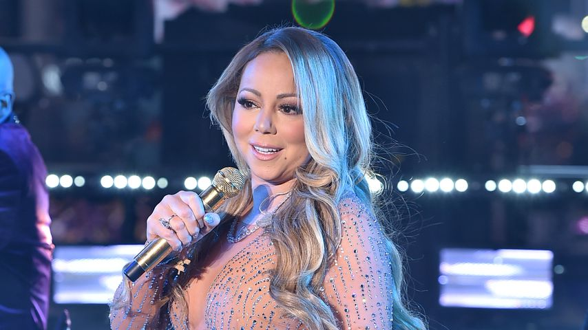 Mariah Carey bei der Silvestersause am Times Square 2016/2017