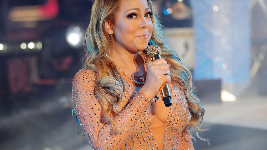Mariah Carey bei ihrem Silvesterauftritt 2016