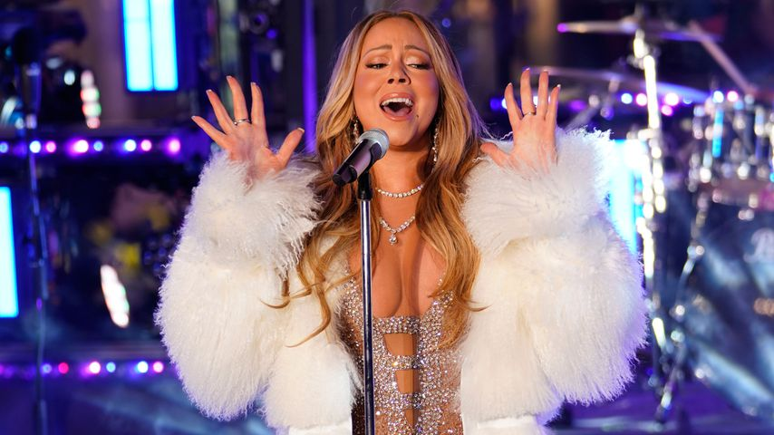 Nach Playback-Panne: Mariah Carey meistert Silvester-Gig!
