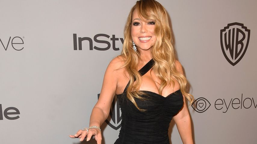 Mariah Carey bei der Aftershow-Party der Golden Globe Awards