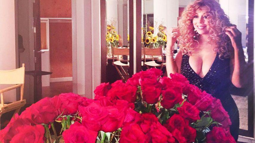 """Liebesbeweis: Mariah Carey singt """"Hero"""" für Lover James"""