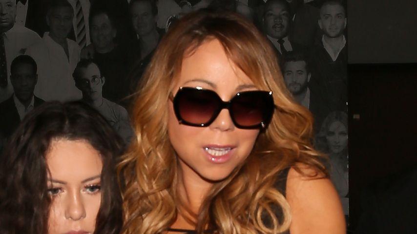 Mariah Carey verlässt im Oktober 2016 ein Restaurant in Los Angeles
