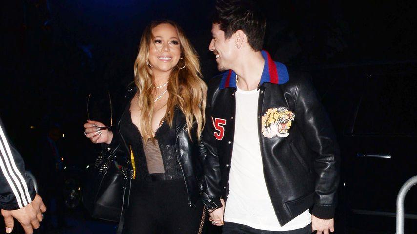 Bryan Tanaka und Mariah Carey in L.A.