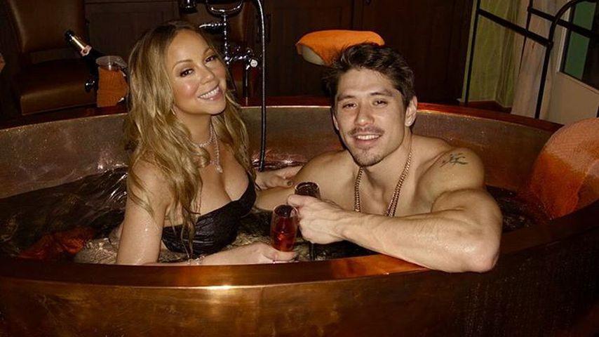 Mariah Carey und Bryan Tanaka verbringen den Valentinstag im Whirlpool