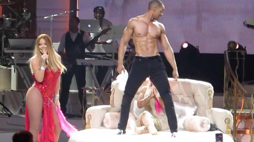 Mariah Careys Tänzer performt für Blac Chyna in Las Vegas
