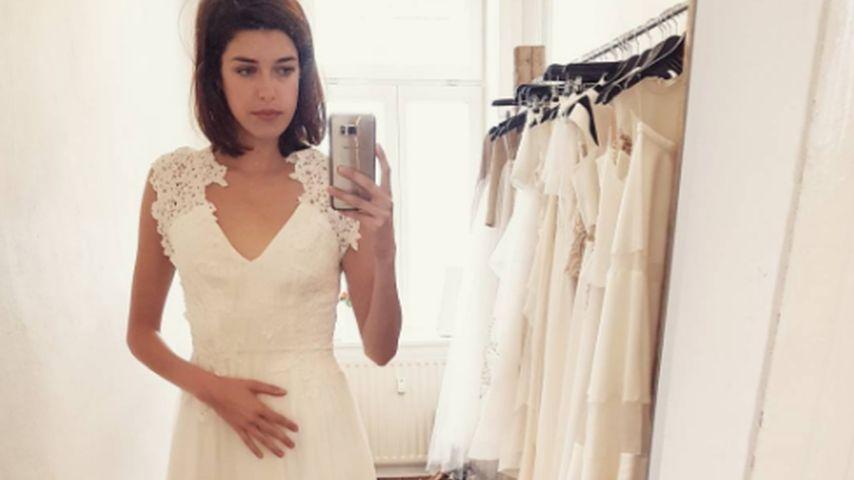 Im Hochzeitskleid: Heiratet diese Ex-GNTM-Kandidatin etwa?