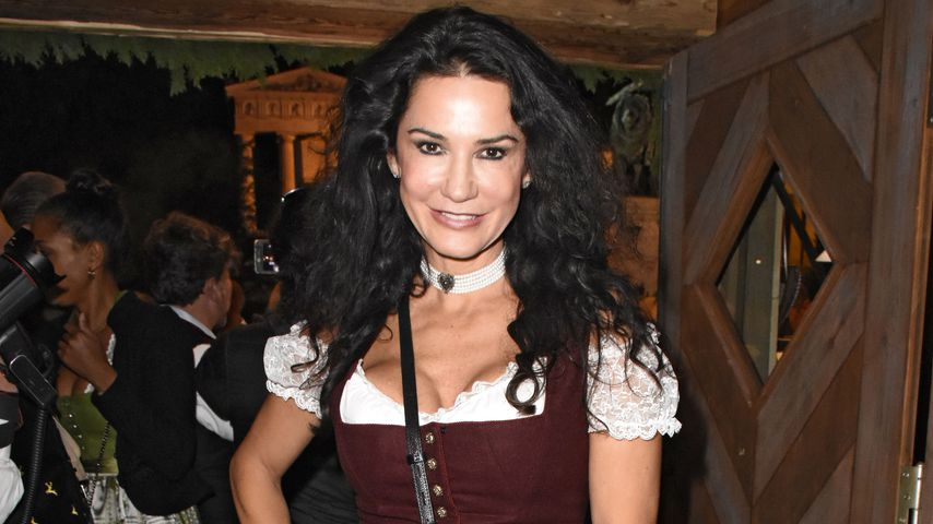 Mariella Ahrens auf dem Oktoberfest 2018