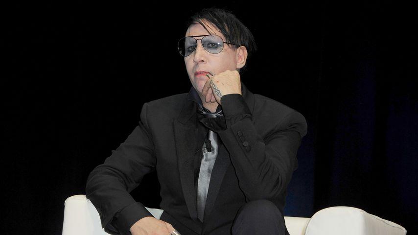 Kaum erkannt: Das ist wirklich Schock-Rocker Marilyn Manson!