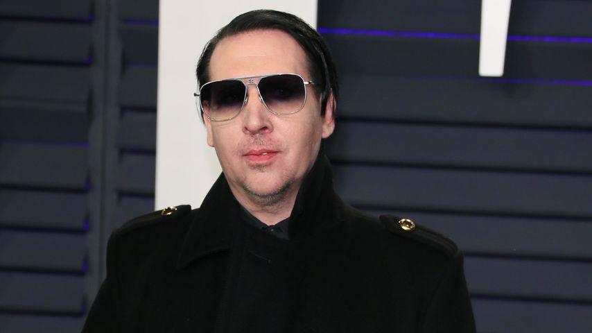 Nach Haftbefehl: Marilyn Manson will sich Polizei stellen