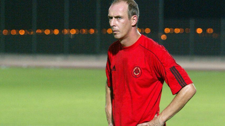 Mario Basler auf dem Fußballfeld