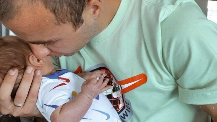 Mario Götze und Baby Rome